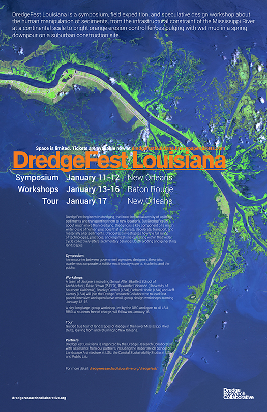 525_DredgeFest Louisiana_Poster_11x17